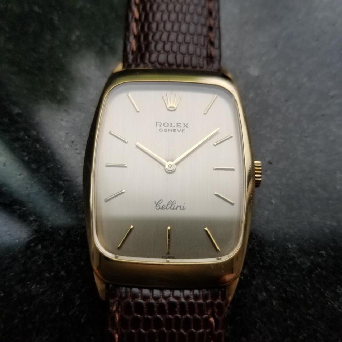 ROLEX Men's 18K Gold Cellini 4136 Hand-Wind Dress Watch - 4