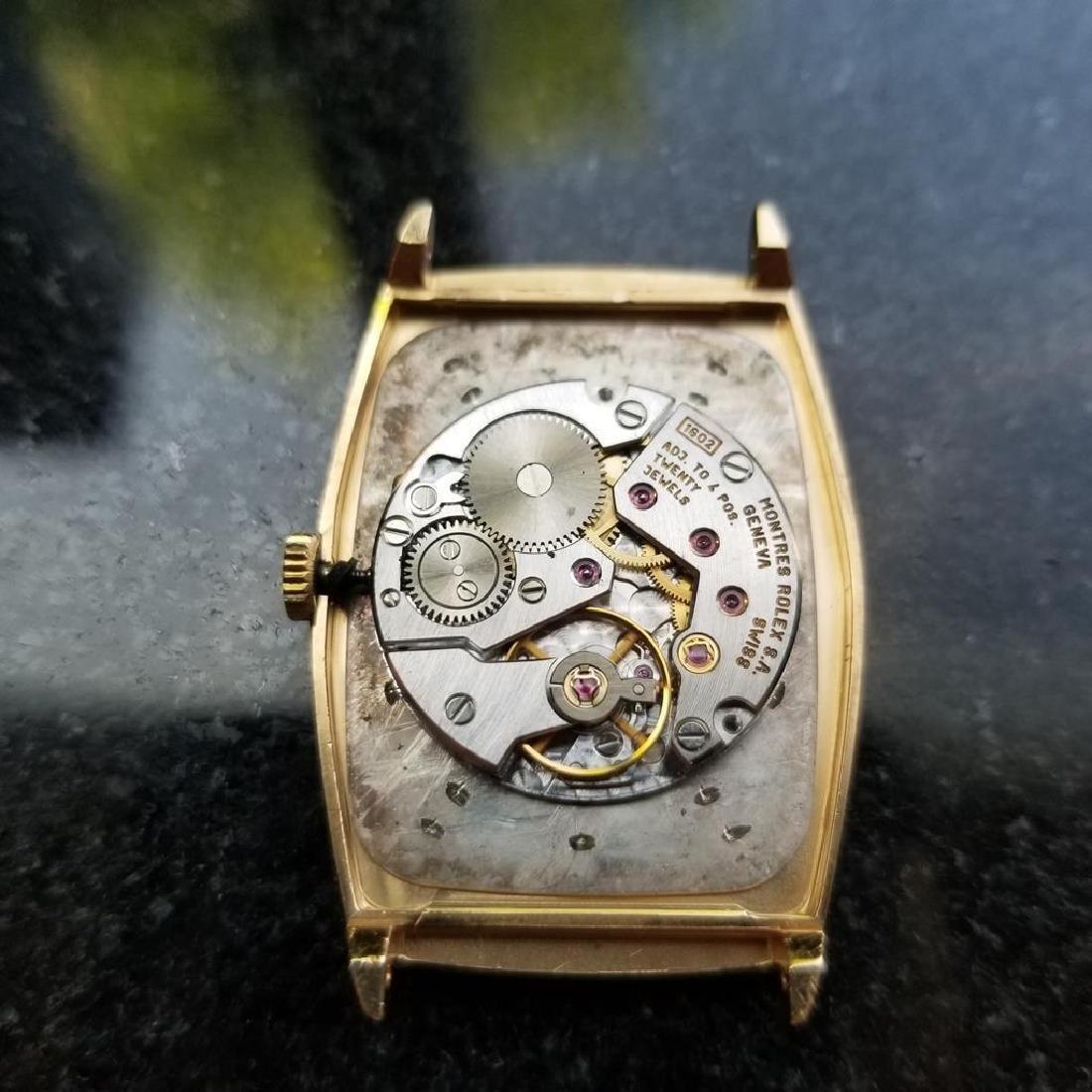 ROLEX Men's 18K Gold Cellini 4136 Hand-Wind Dress Watch - 8