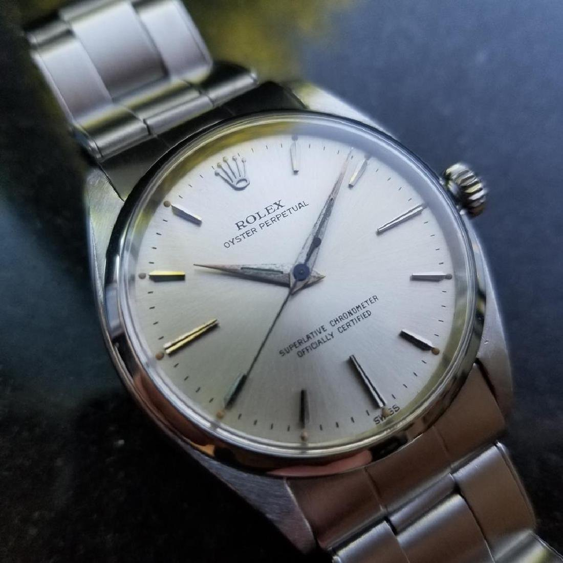 ROLEX Men's Oyster Perpetual 6564 Automatic Stainless