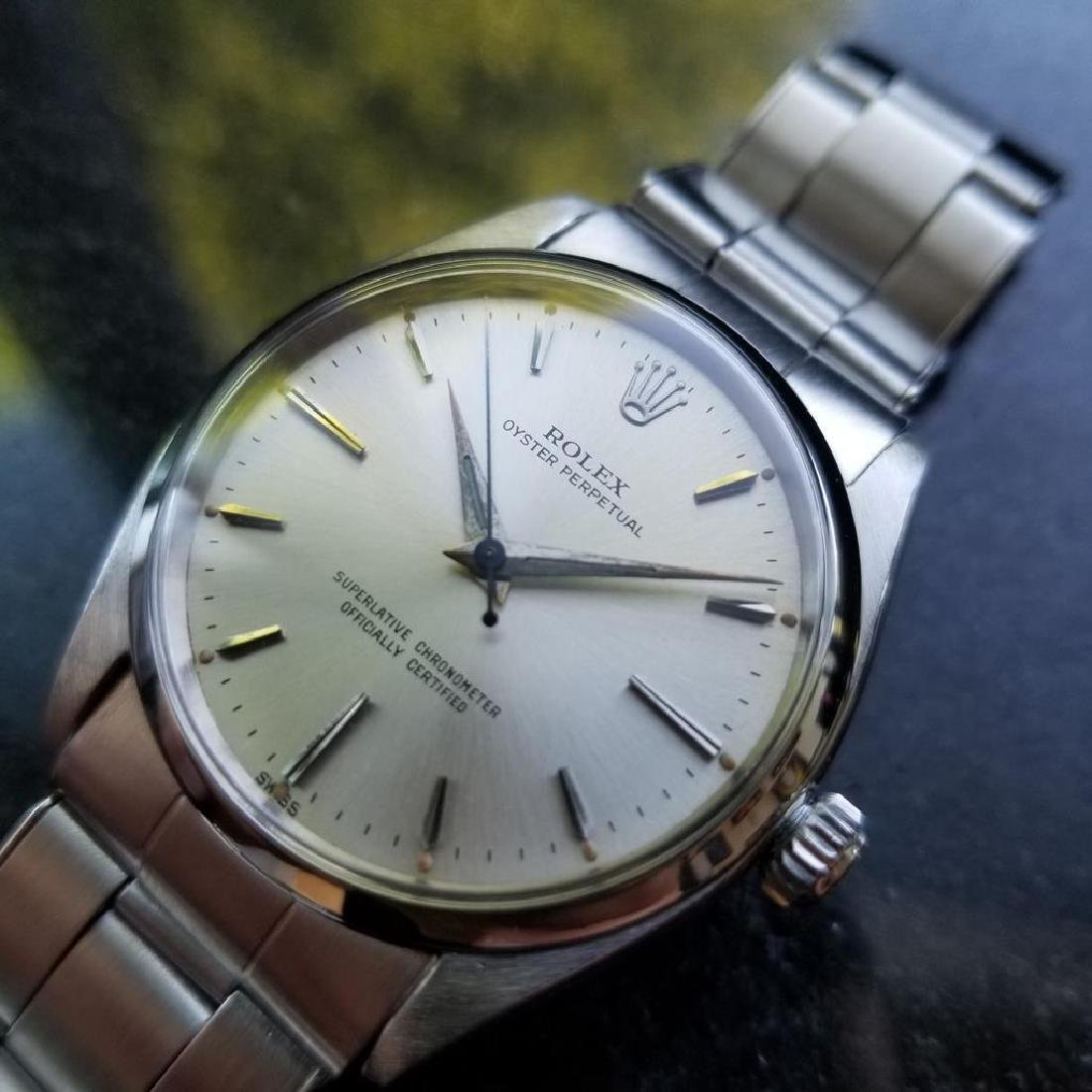 ROLEX Men's Oyster Perpetual 6564 Automatic Stainless - 2