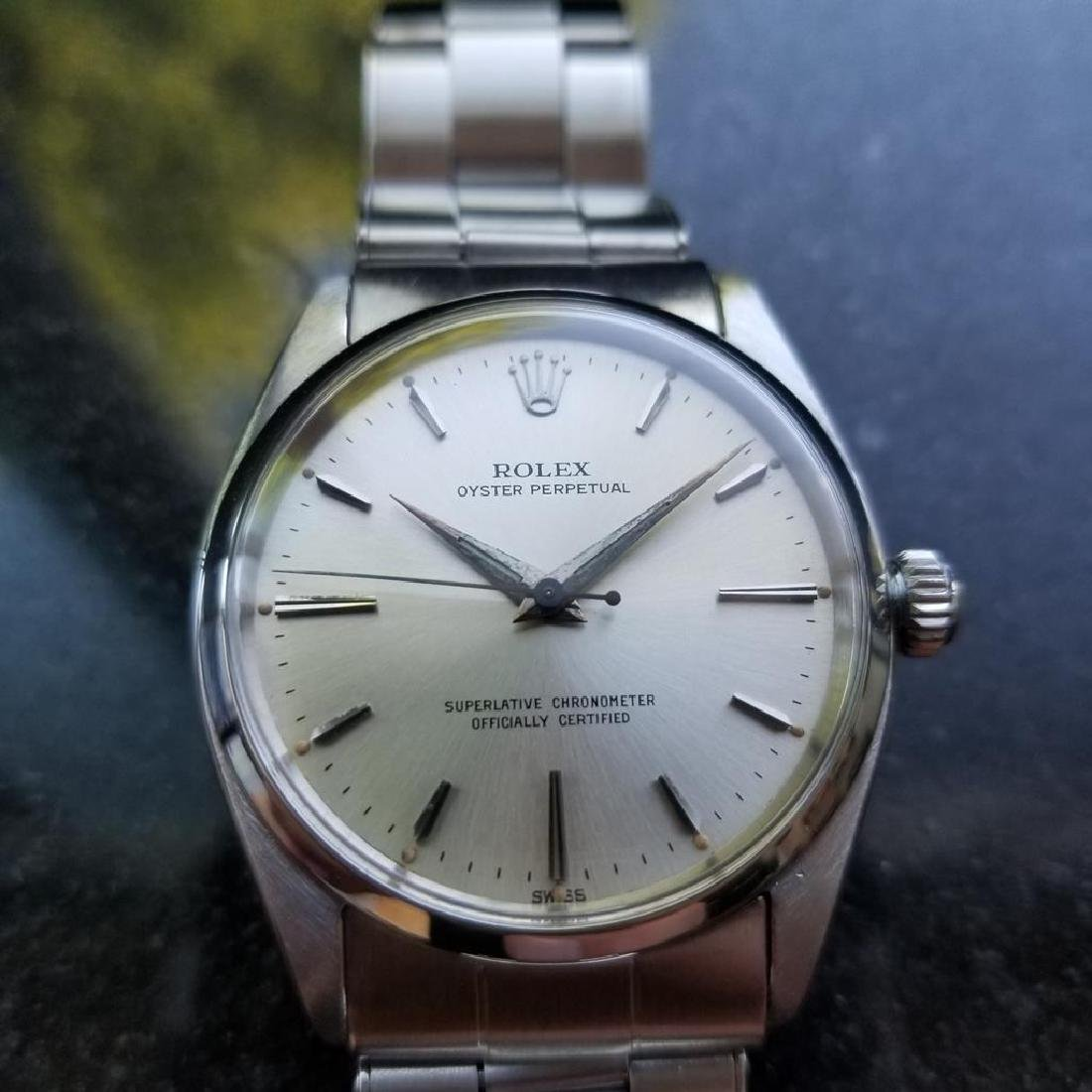ROLEX Men's Oyster Perpetual 6564 Automatic Stainless - 3