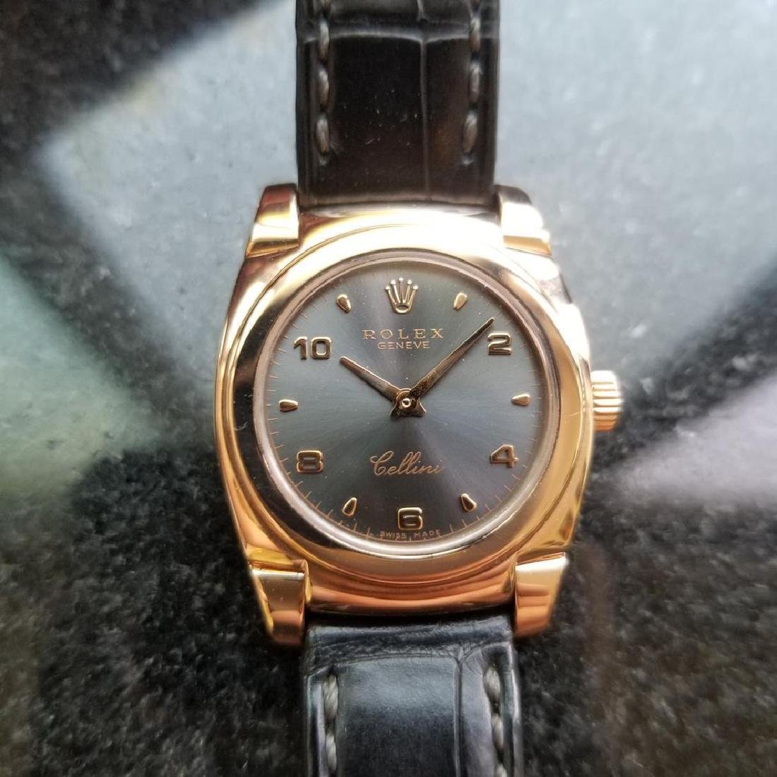 ROLEX 18K Rose Gold Ladies Cellini Cestello ref. 5310