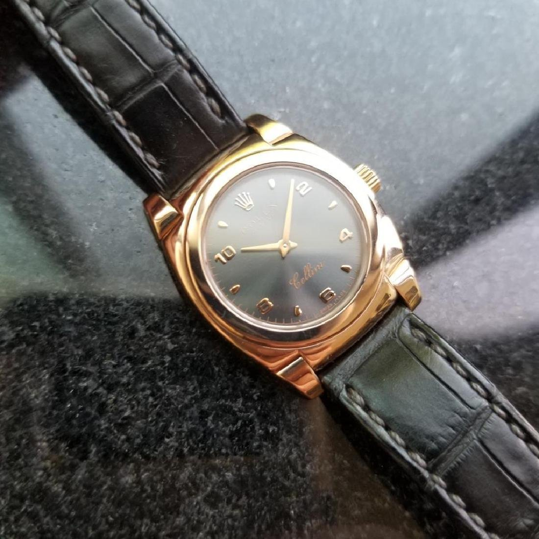 ROLEX 18K Rose Gold Ladies Cellini Cestello ref. 5310 - 2
