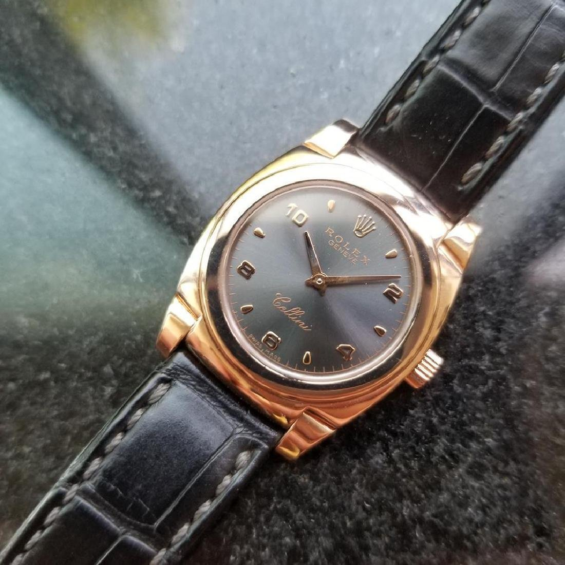 ROLEX 18K Rose Gold Ladies Cellini Cestello ref. 5310 - 3