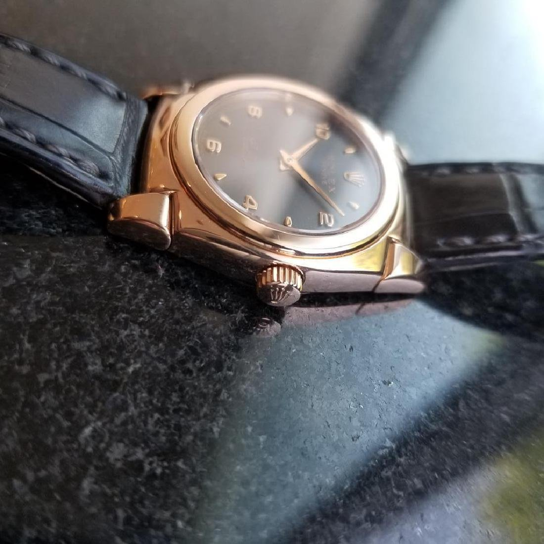 ROLEX 18K Rose Gold Ladies Cellini Cestello ref. 5310 - 4