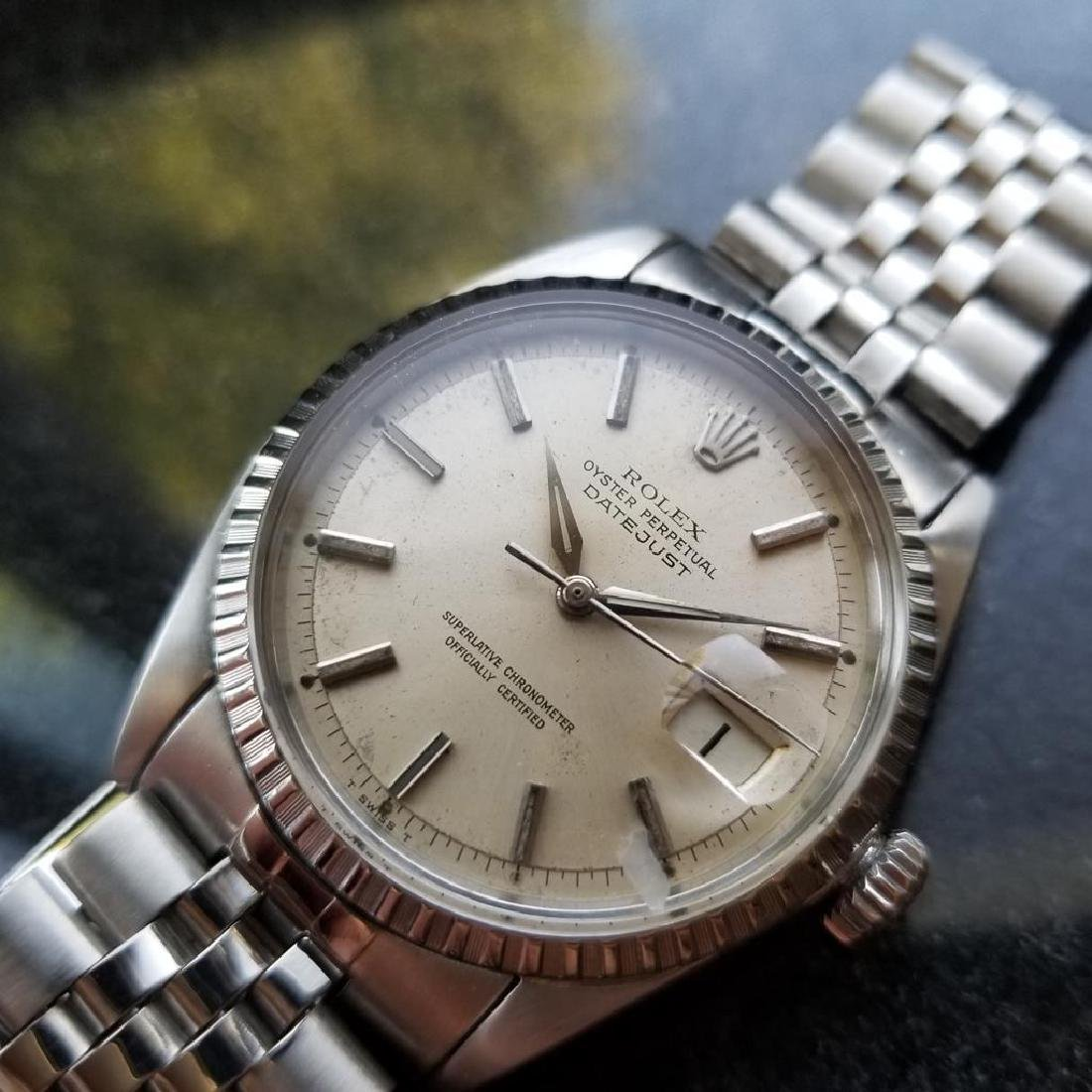 ROLEX Men's Datejust 1603 Automatic c.1965 Stainless