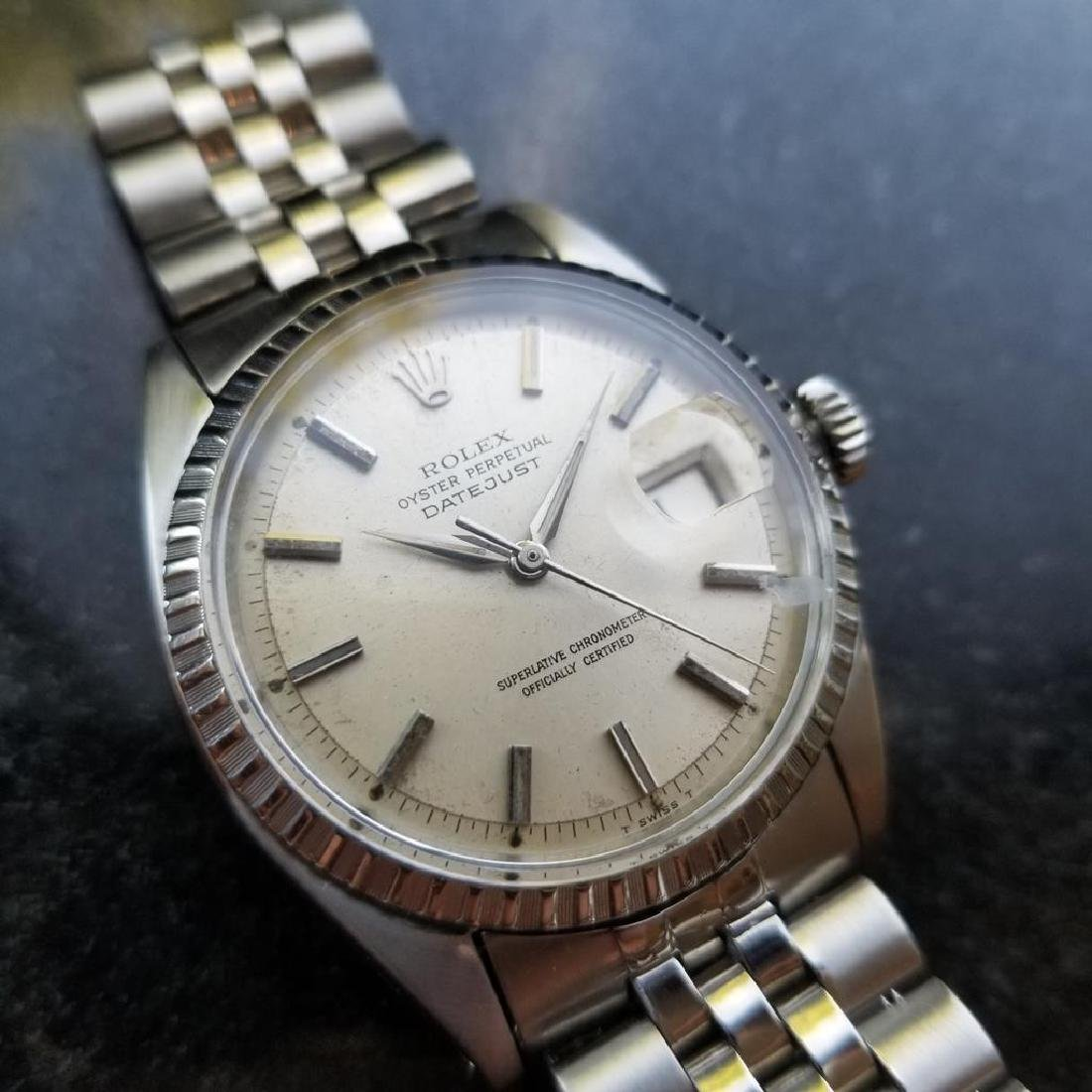 ROLEX Men's Datejust 1603 Automatic c.1965 Stainless - 2