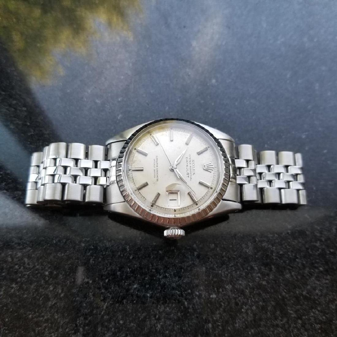 ROLEX Men's Datejust 1603 Automatic c.1965 Stainless - 5