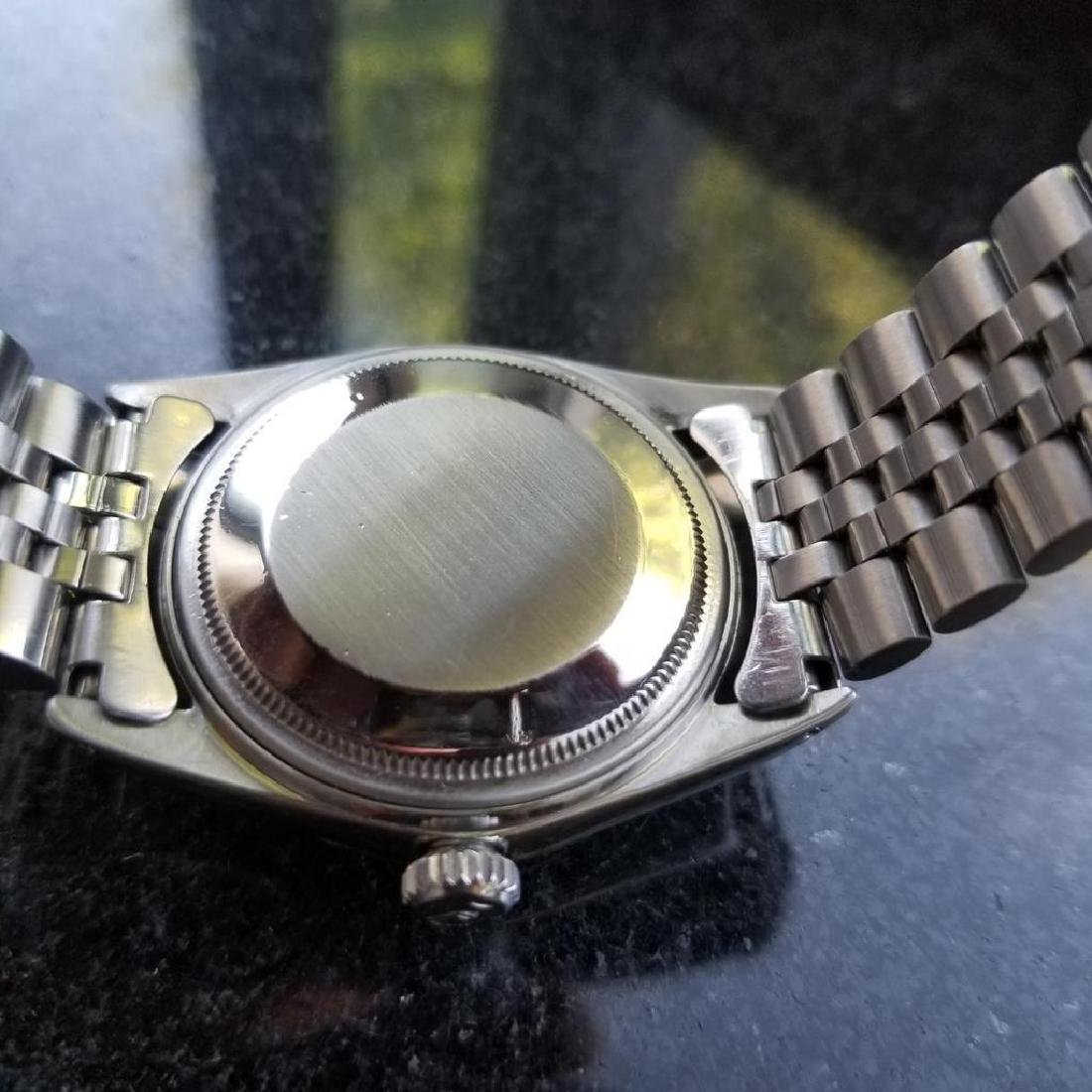 ROLEX Men's Datejust 1603 Automatic c.1965 Stainless - 7