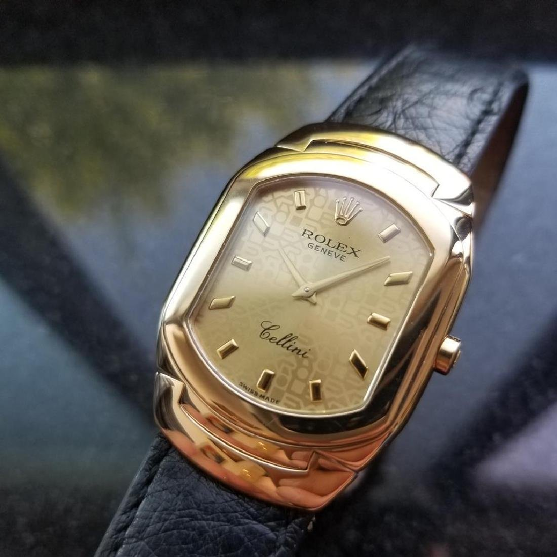 ROLEX Cellini 6633 18K Solid Gold Watch, c.2000 all