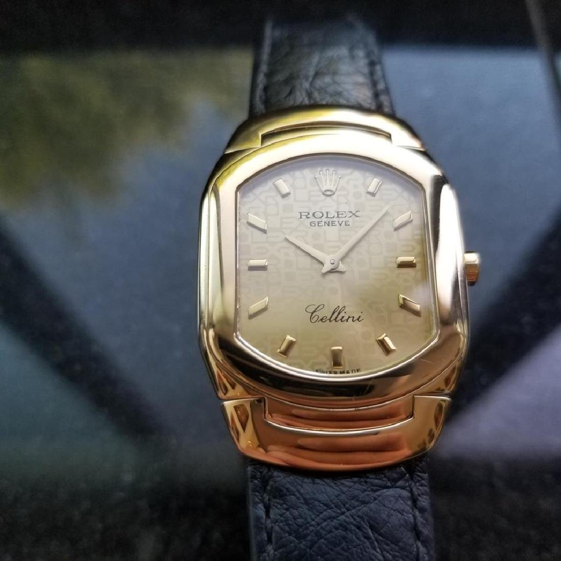 ROLEX Cellini 6633 18K Solid Gold Watch, c.2000 all - 2