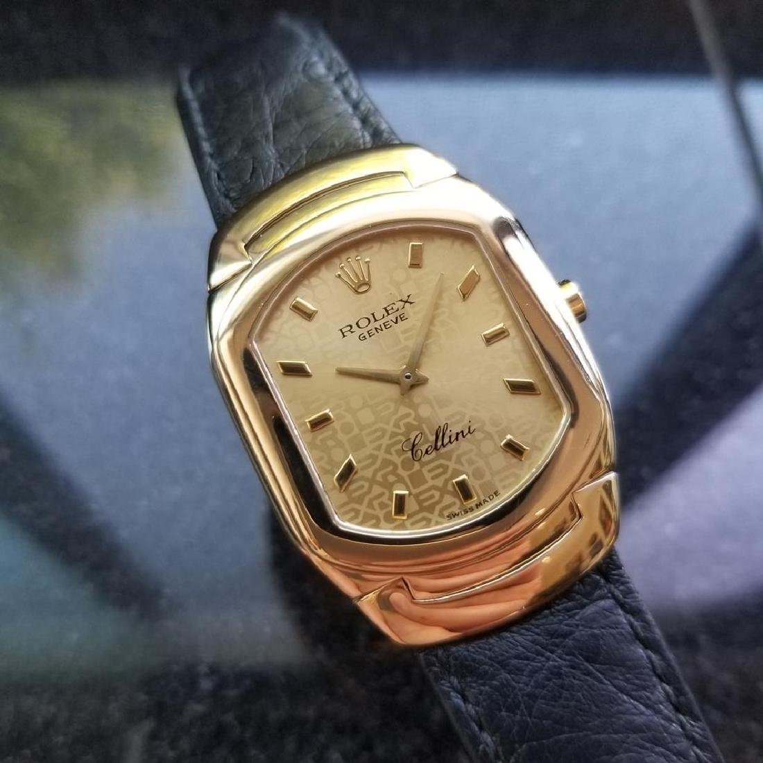 ROLEX Cellini 6633 18K Solid Gold Watch, c.2000 all - 3