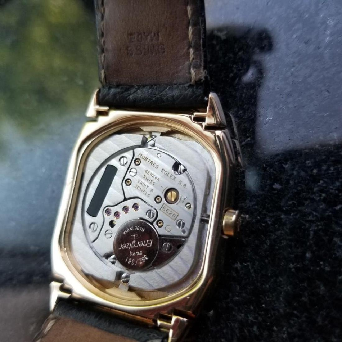 ROLEX Cellini 6633 18K Solid Gold Watch, c.2000 all - 9
