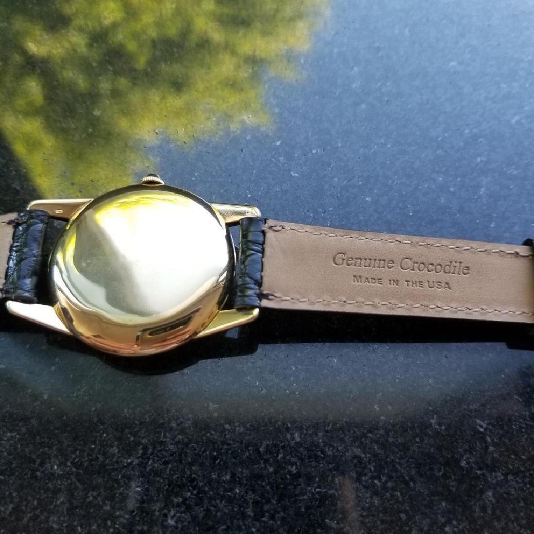 ROLEX Rare Men's 18K Gold 8570 Manual Hand-Wind Dress - 7
