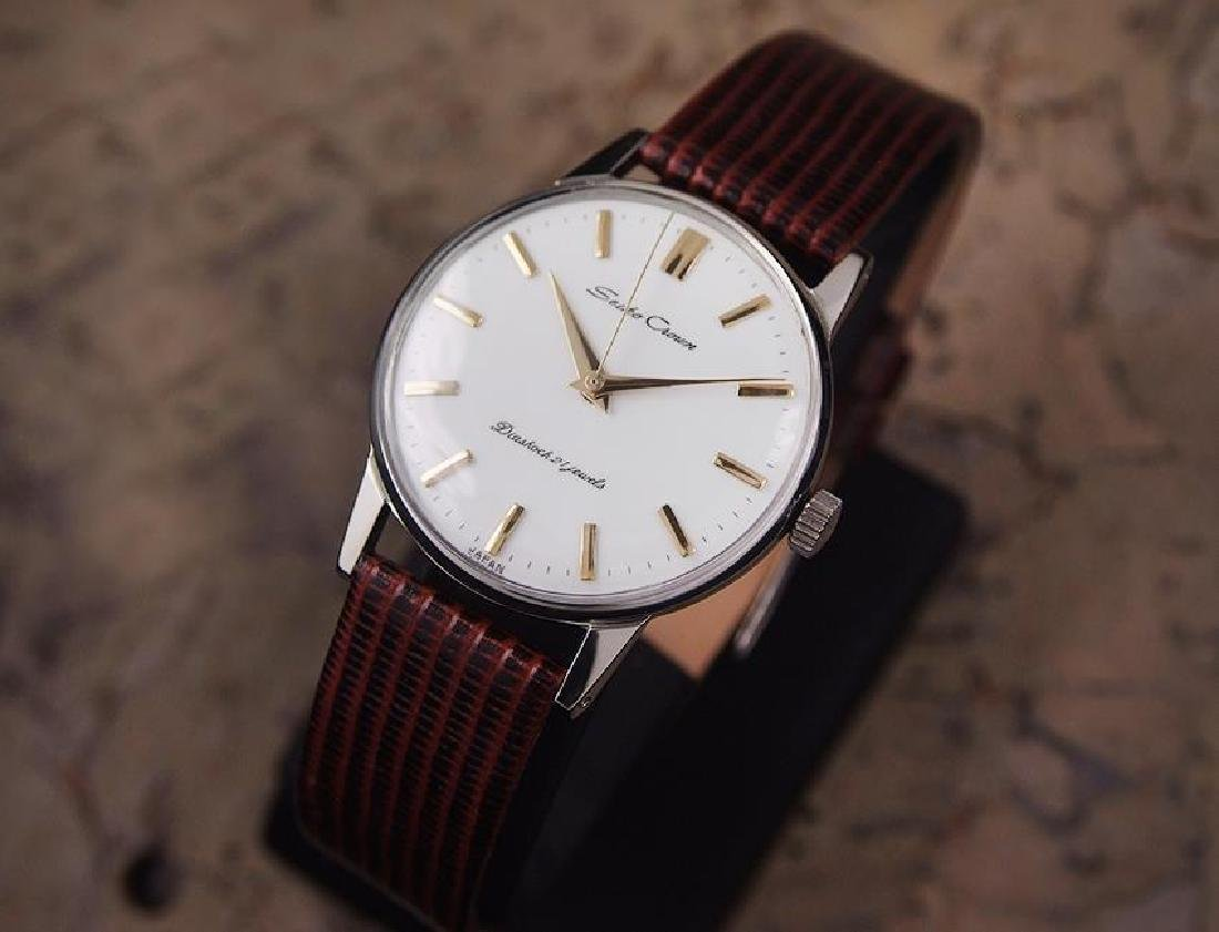 Seiko Crown Made in Japan 1960 Stainless Steel Manual - 2