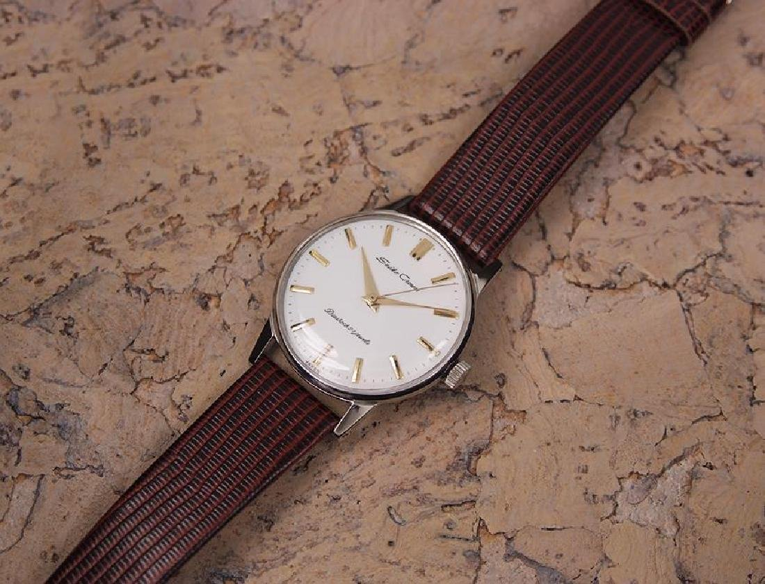 Seiko Crown Made in Japan 1960 Stainless Steel Manual - 6