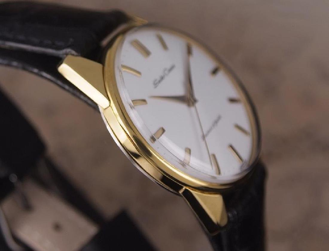 Seiko Crown Made in Japan 1960 Gold Plated Manual 36mm - 5