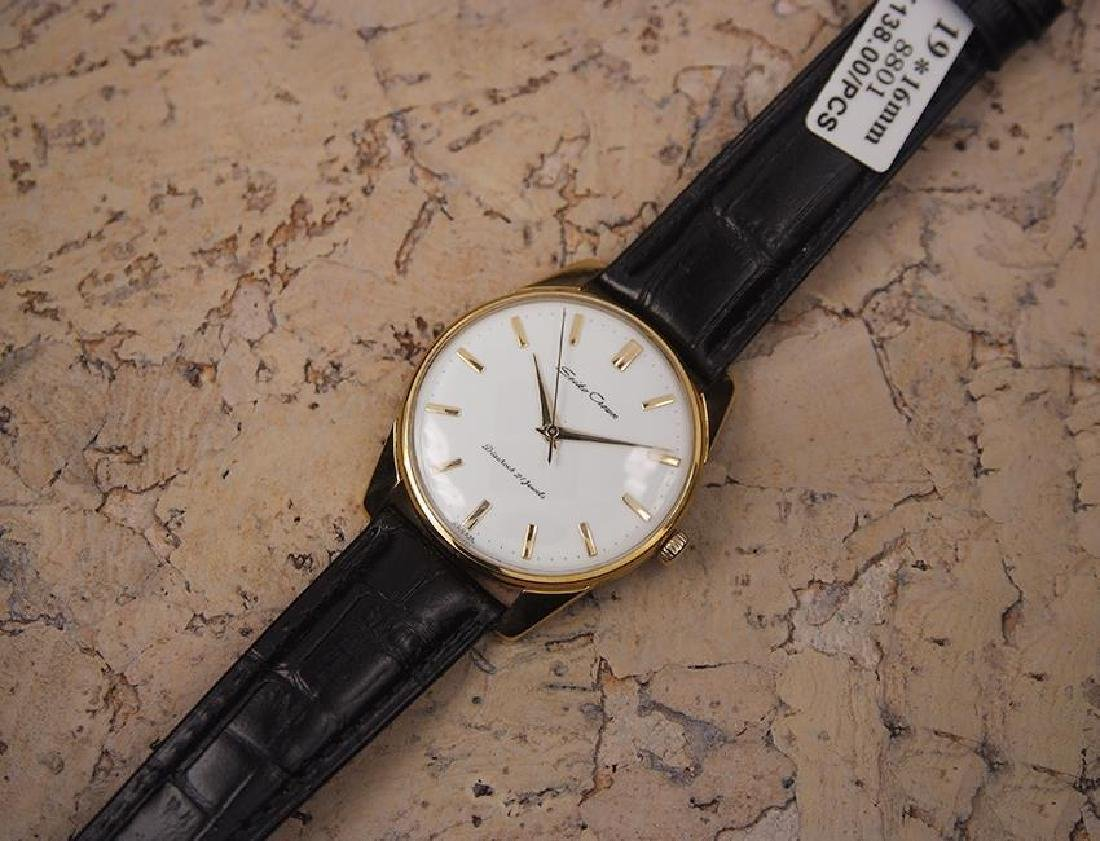Seiko Crown Made in Japan 1960 Gold Plated Manual 36mm - 6