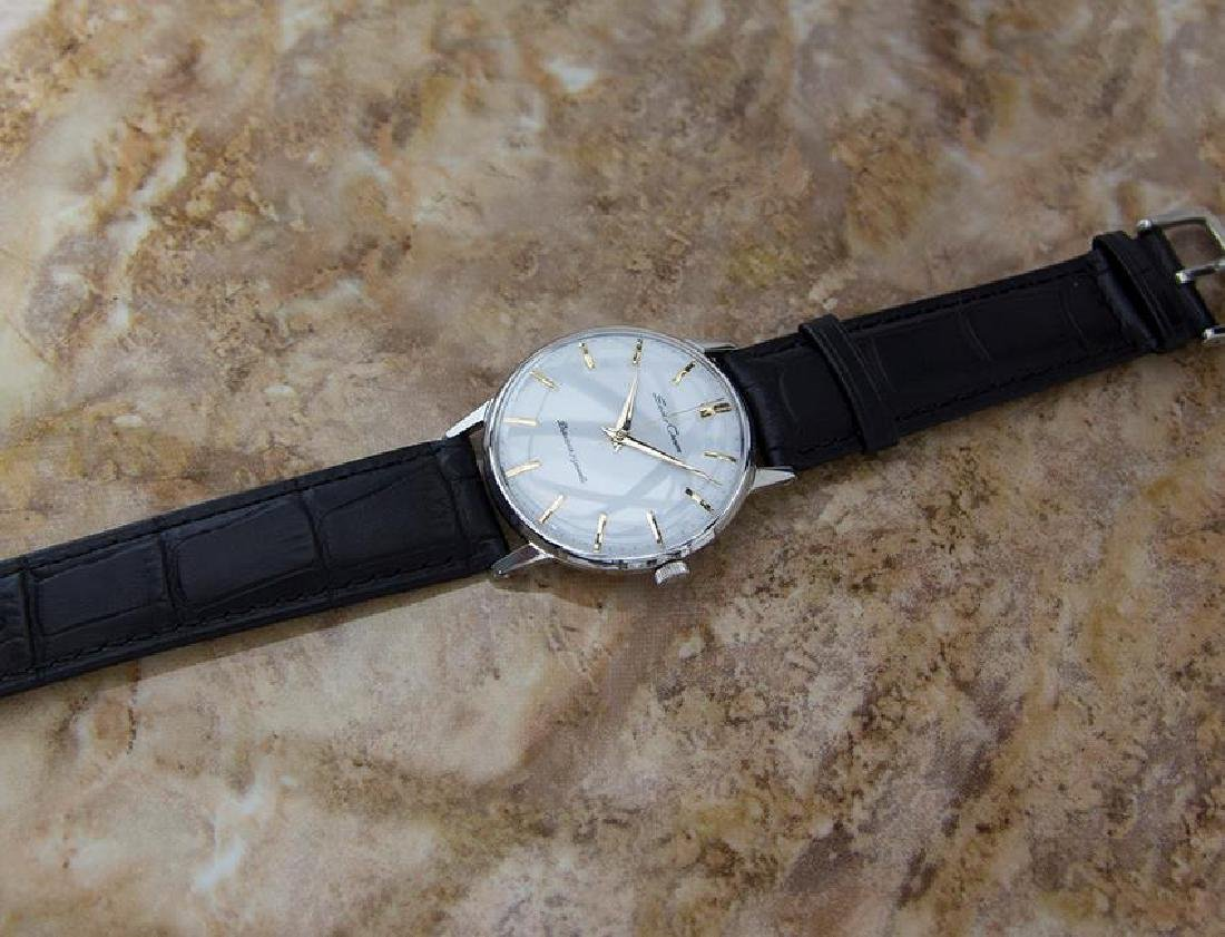 Seiko Crown Made in Japan 1960 Stainless Steel Manual - 7