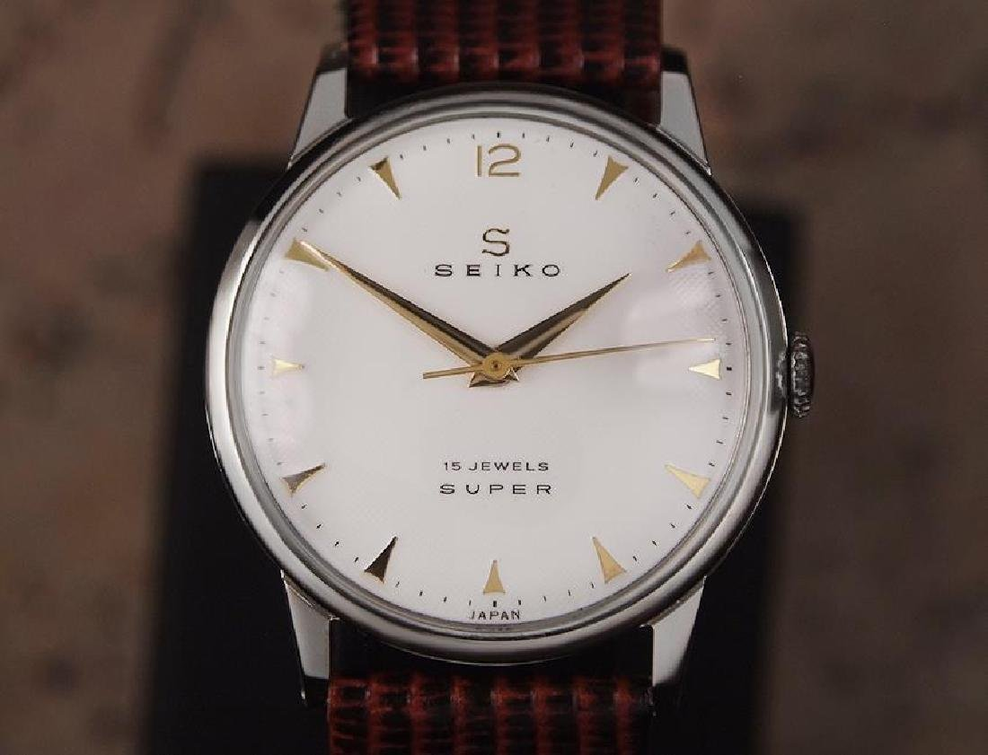 Seiko Super Made in Japan 1960s Manual Hand Winding