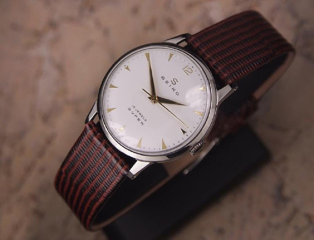 Seiko Super Made in Japan 1960s Manual Hand Winding - 2