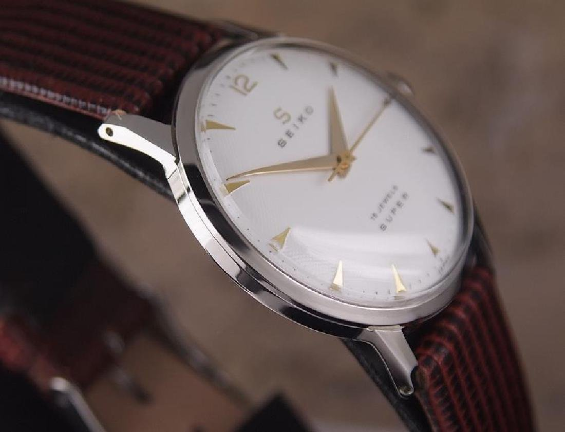 Seiko Super Made in Japan 1960s Manual Hand Winding - 5