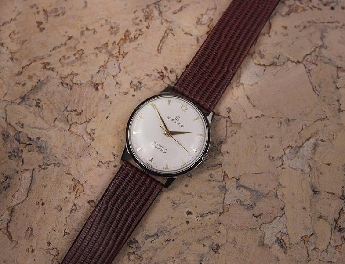 Seiko Super Made in Japan 1960s Manual Hand Winding - 6