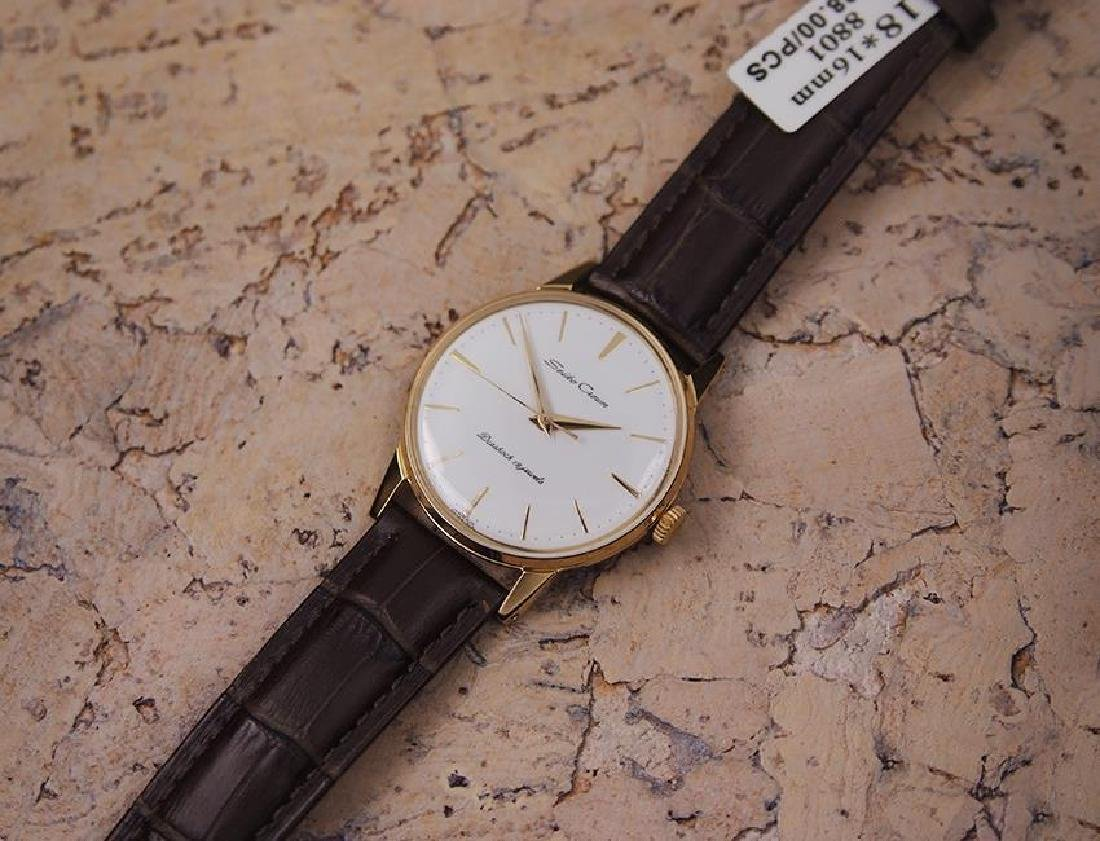 Seiko Crown Made in Japan 1960 Gold Plated Manual 35mm - 6