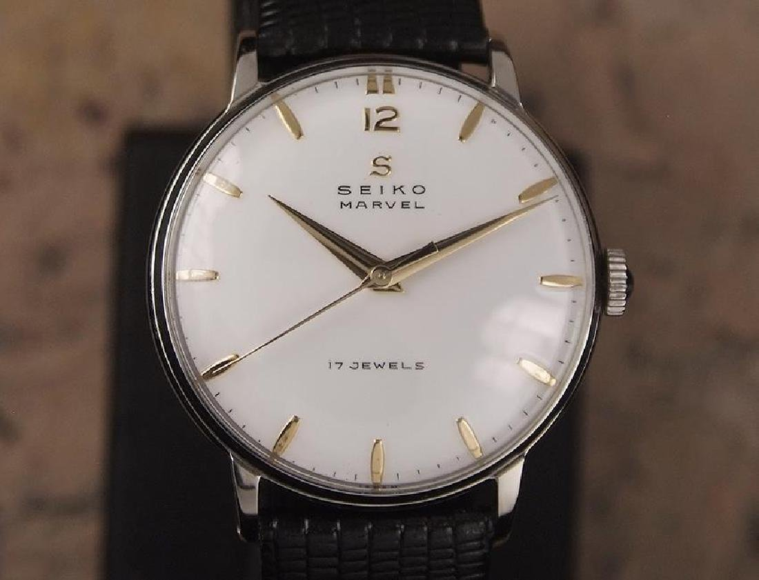 Seiko Marvel 1960s Made in Japan 33mm Manual Stainless