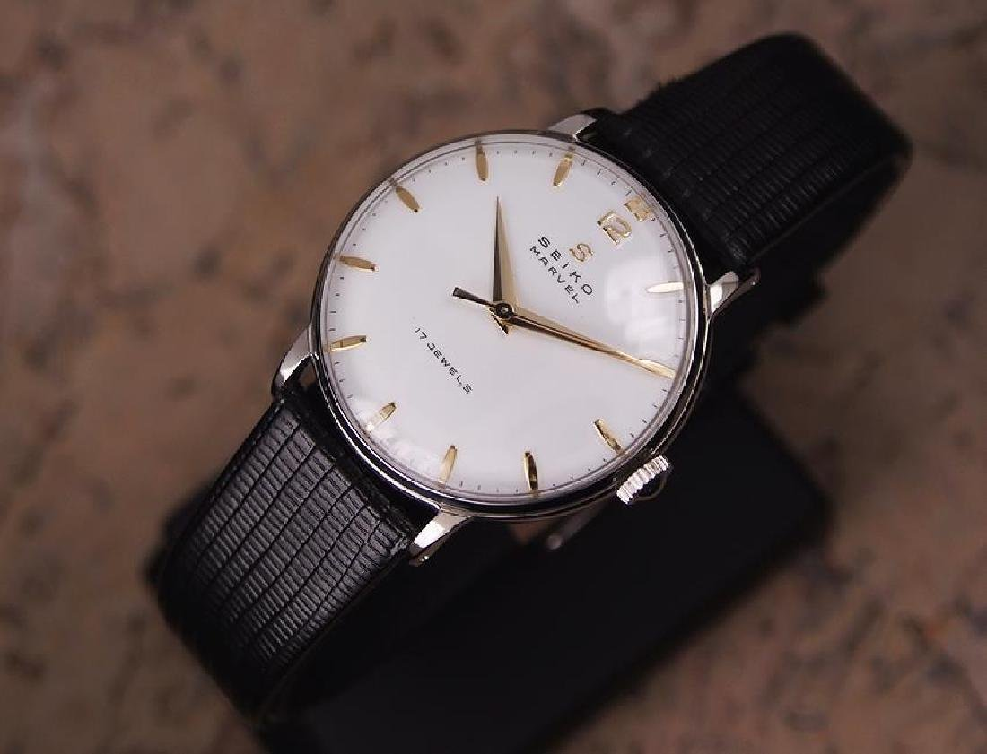Seiko Marvel 1960s Made in Japan 33mm Manual Stainless - 2