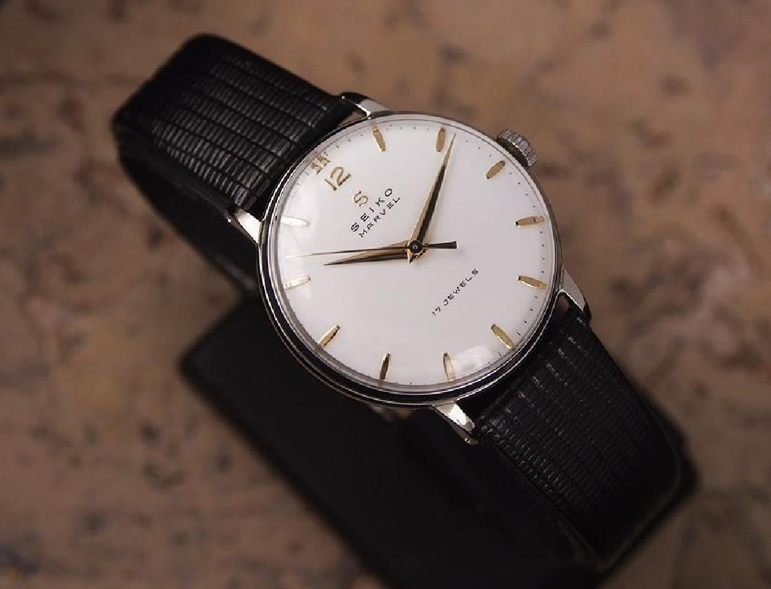 Seiko Marvel 1960s Made in Japan 33mm Manual Stainless - 3