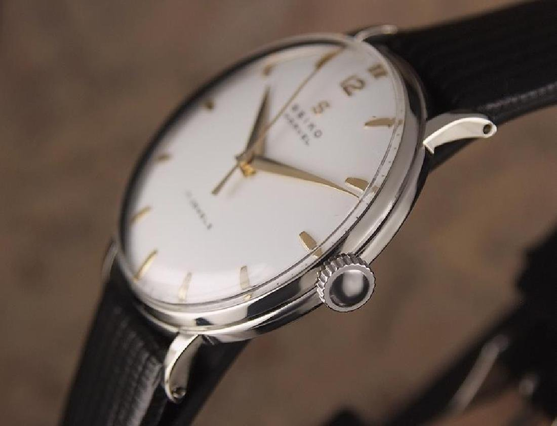 Seiko Marvel 1960s Made in Japan 33mm Manual Stainless - 4