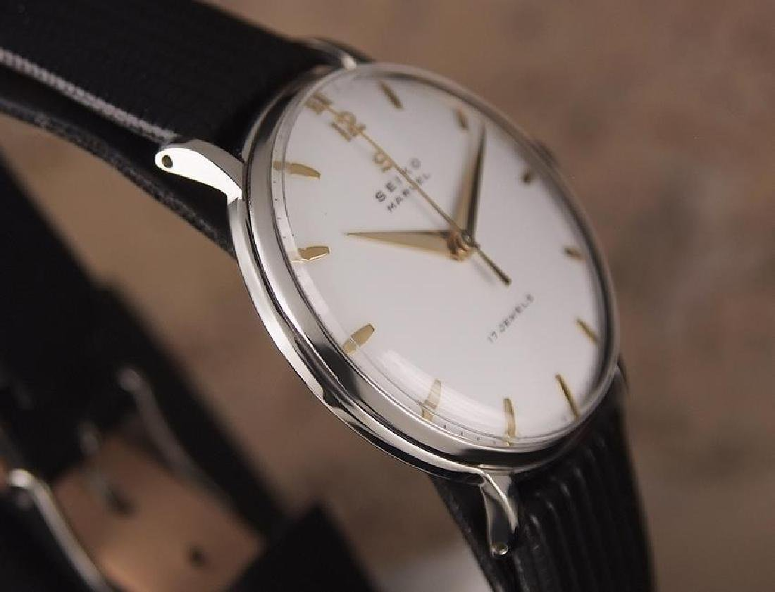 Seiko Marvel 1960s Made in Japan 33mm Manual Stainless - 5