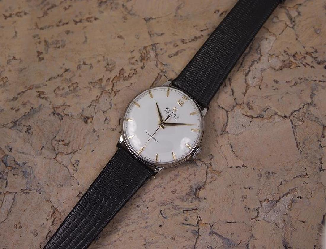 Seiko Marvel 1960s Made in Japan 33mm Manual Stainless - 6