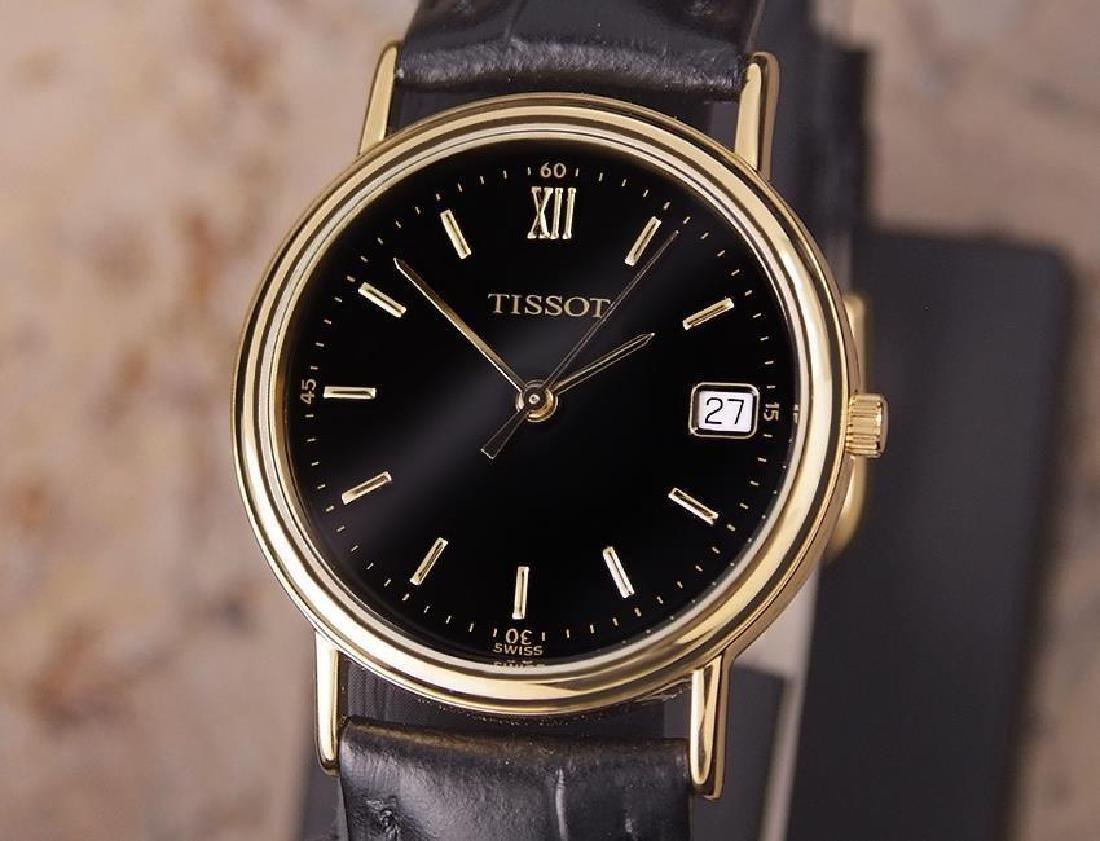 Tissot Swiss Made Men's 31mm Quartz Gold Plated c2000