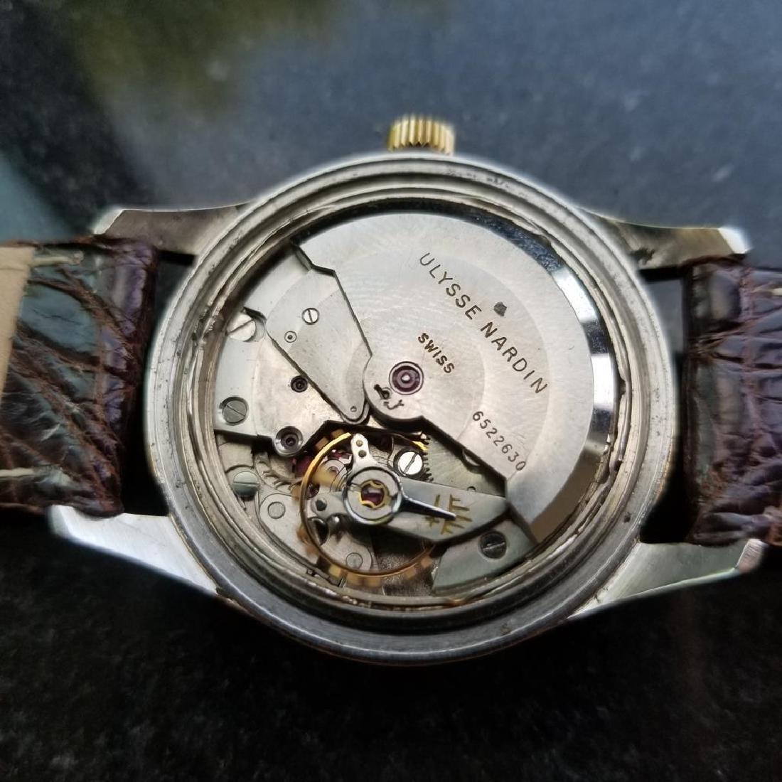 Vintage ULYSSE NARDIN Chronometer Automatic w/ date - 10