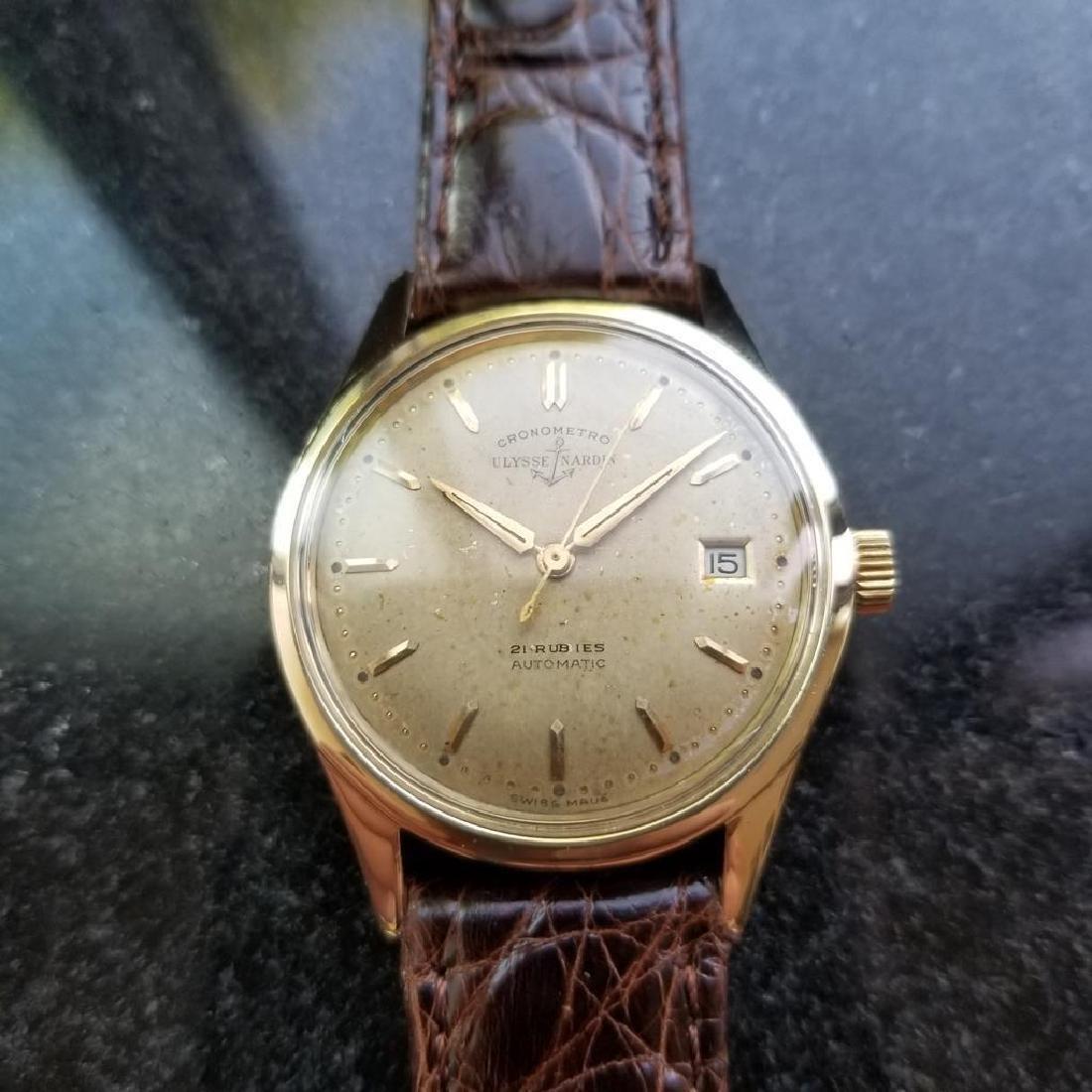 Vintage ULYSSE NARDIN Chronometer Automatic w/ date - 2