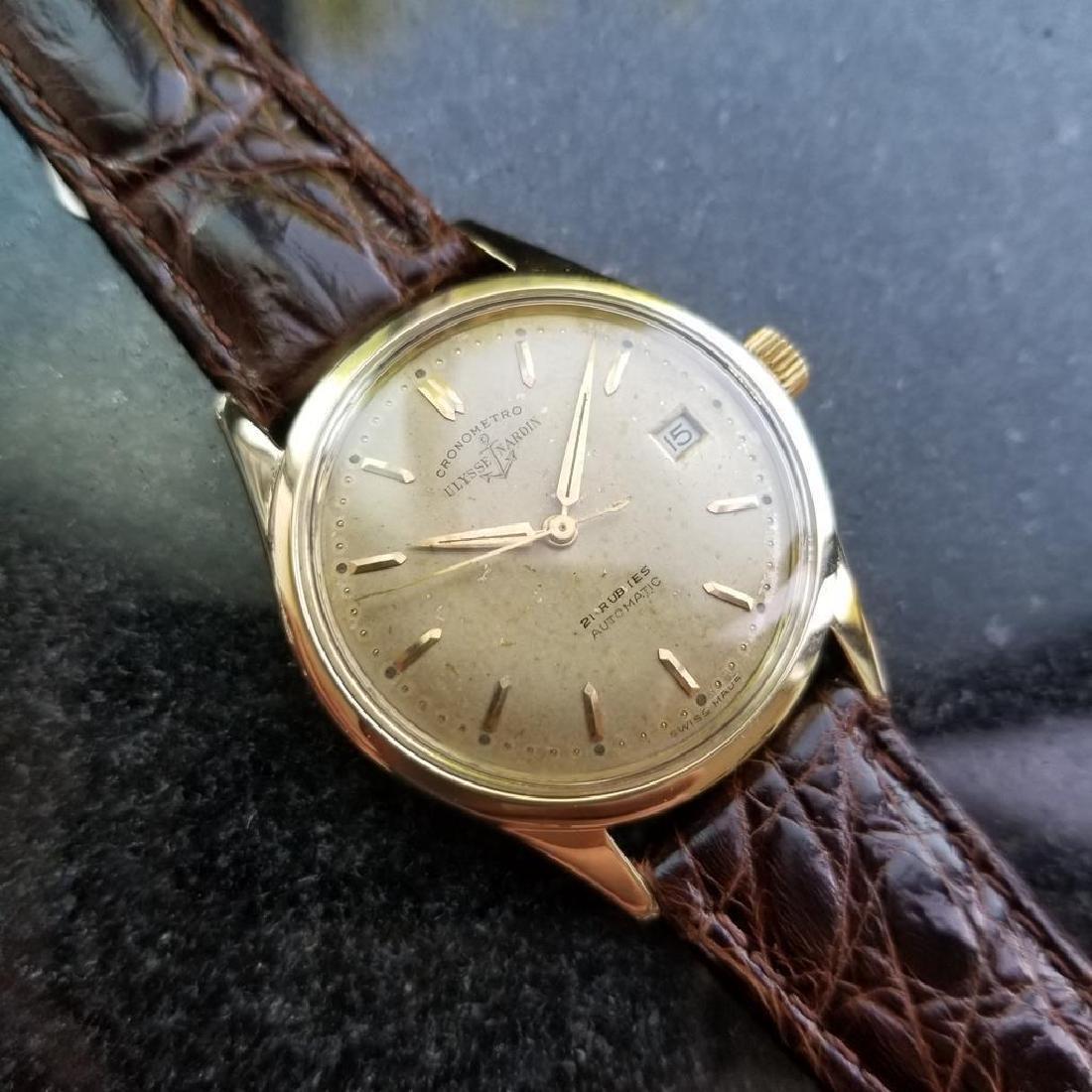 Vintage ULYSSE NARDIN Chronometer Automatic w/ date - 5