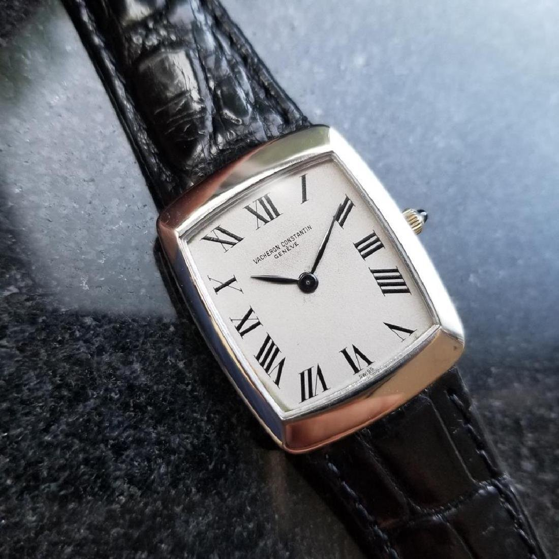 VACHERON CONSTANTIN Mens Solid 18K White Gold ref.6990
