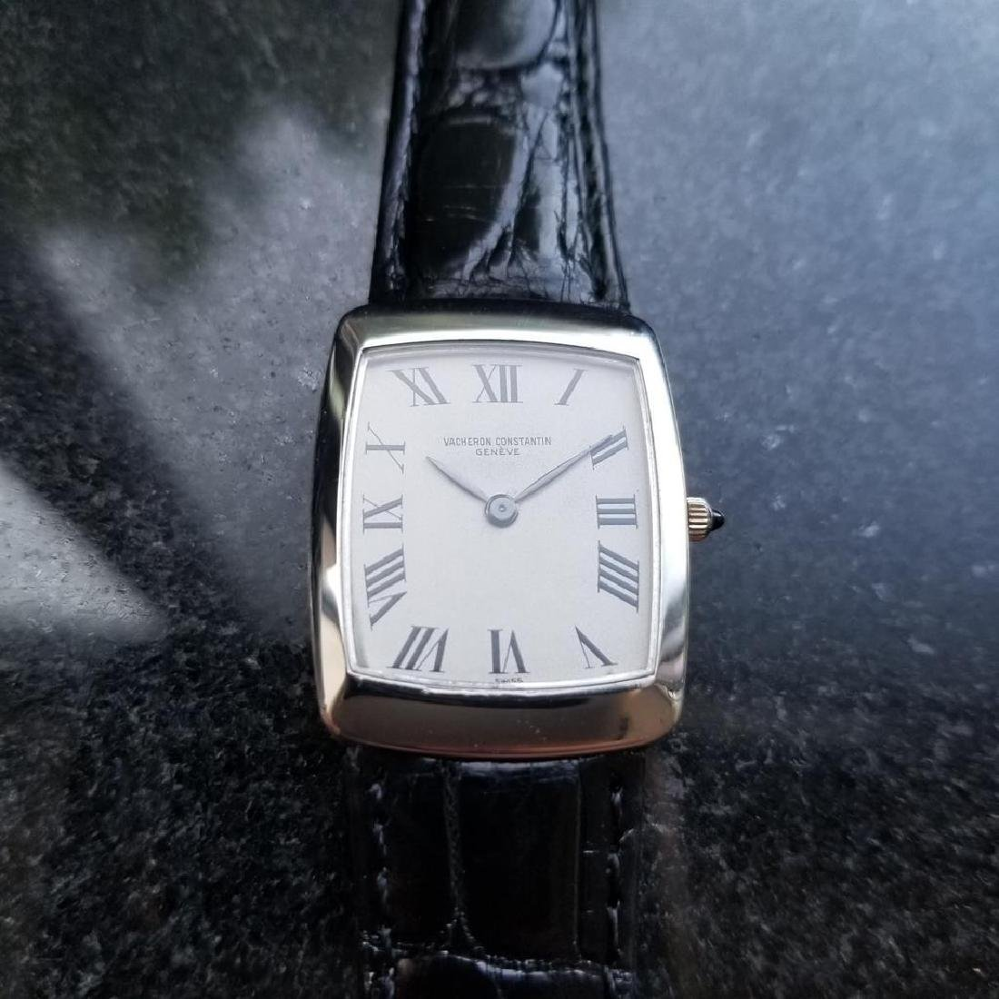 VACHERON CONSTANTIN Mens Solid 18K White Gold ref.6990 - 3