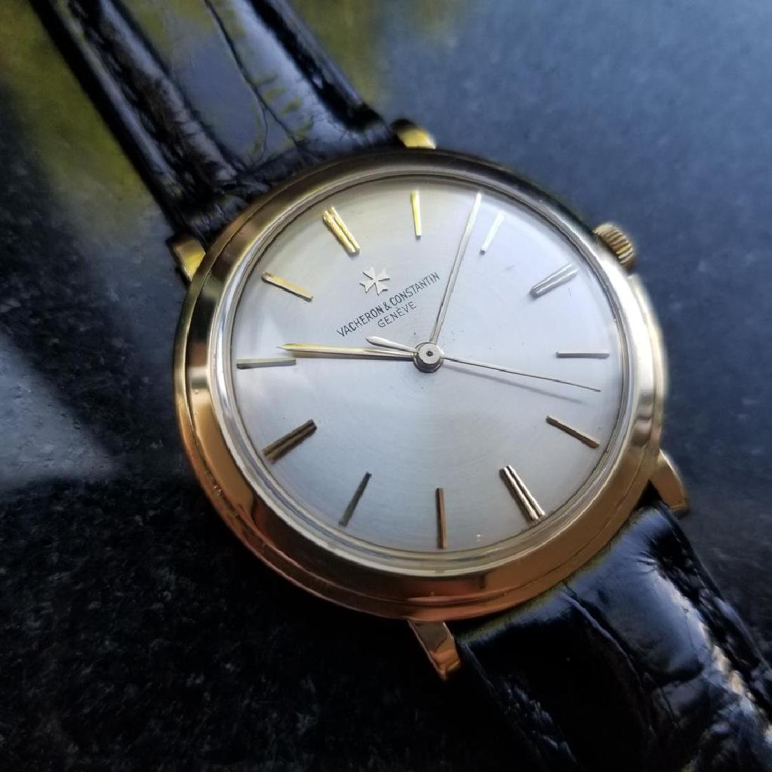 VACHERON & CONSTANTIN Men's 18K Gold 4986 Hand-Wind