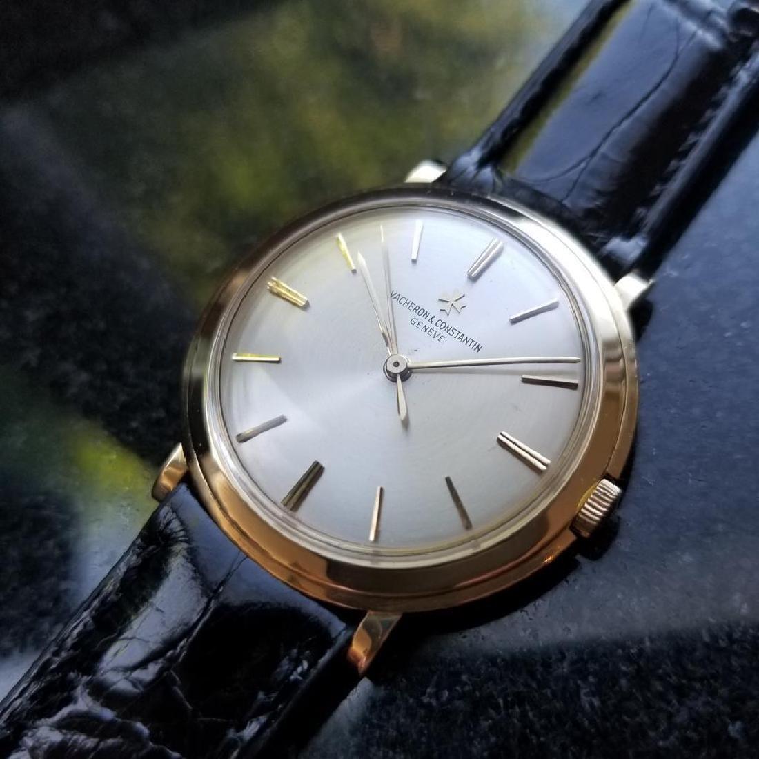 VACHERON & CONSTANTIN Men's 18K Gold 4986 Hand-Wind - 2