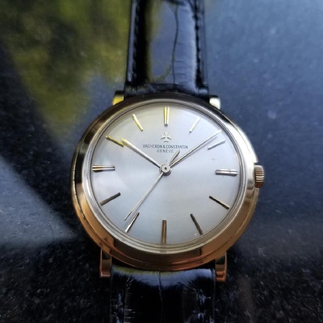VACHERON & CONSTANTIN Men's 18K Gold 4986 Hand-Wind - 3