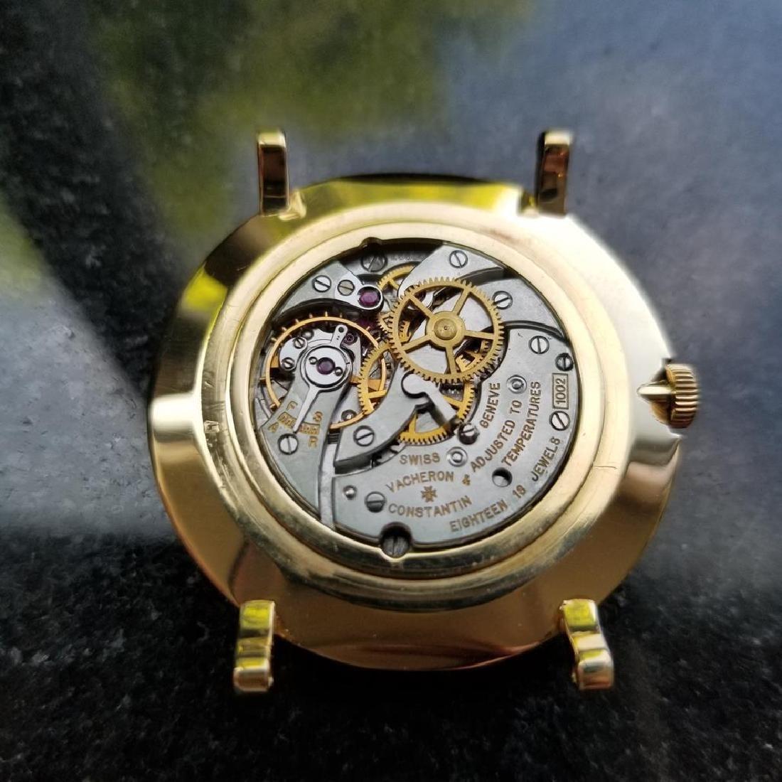 VACHERON & CONSTANTIN Men's 18K Gold 4986 Hand-Wind - 8