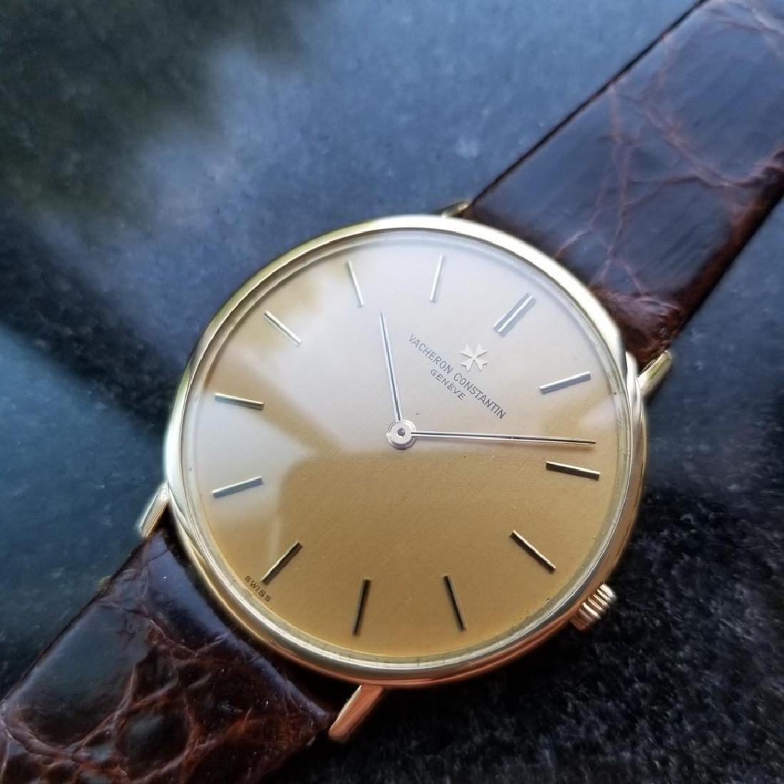 VACHERON CONSTANTIN Men's 18K Gold Geneve Dress Watch