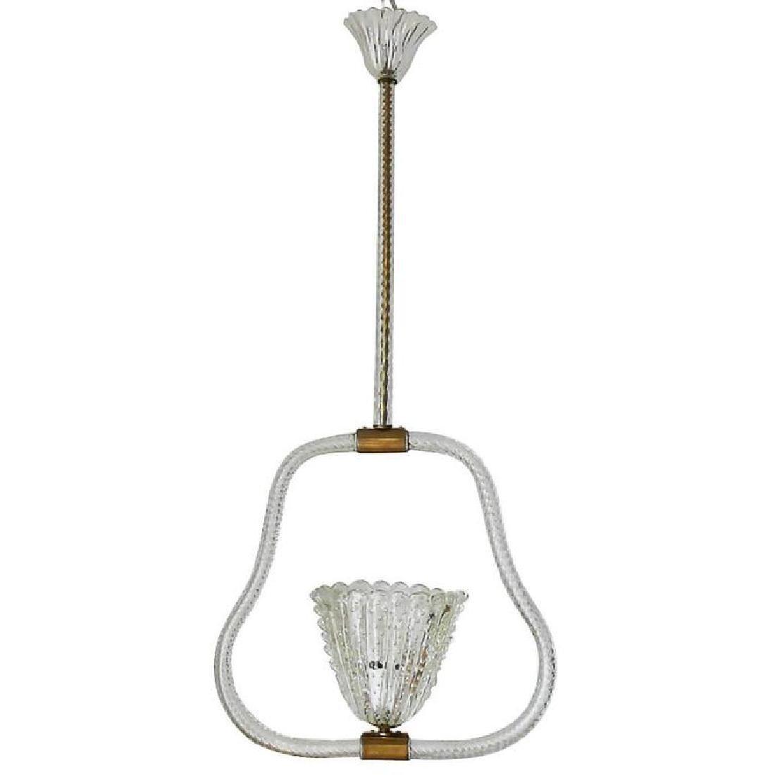 Murano Glass Pendant by Ercole Barovier