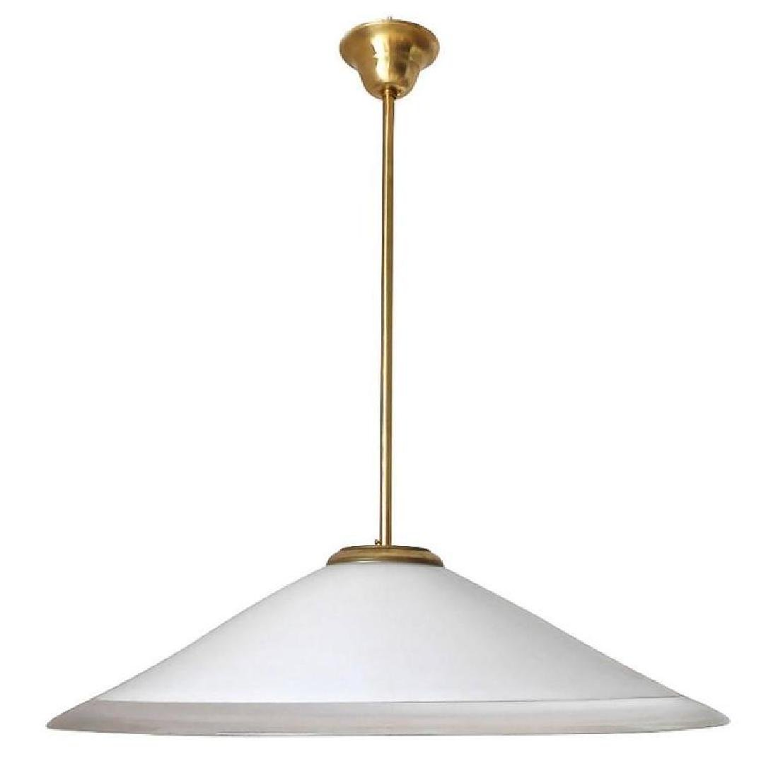 Murano Glass White Pendant by Leucos