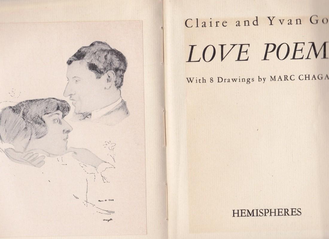 (2 Vols.) Love Poems and Jean Sans Terre. (Chagall. - 3