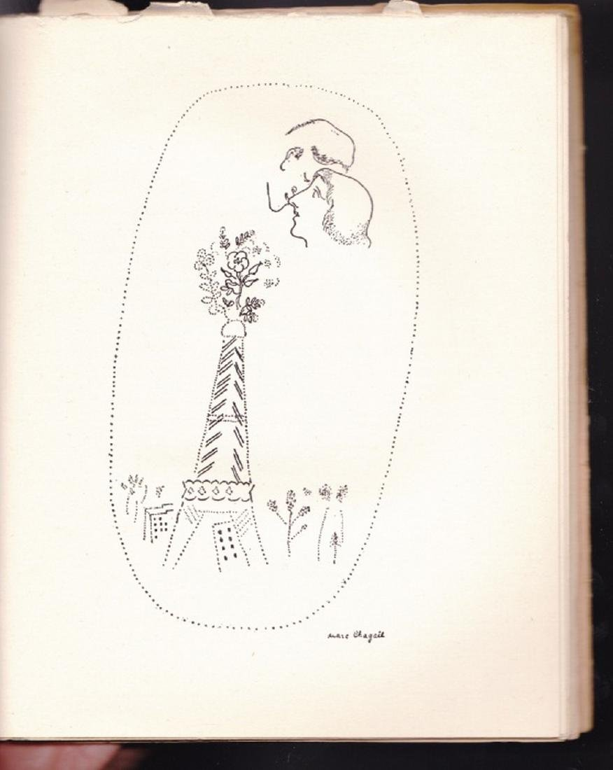(2 Vols.) Love Poems and Jean Sans Terre. (Chagall. - 4