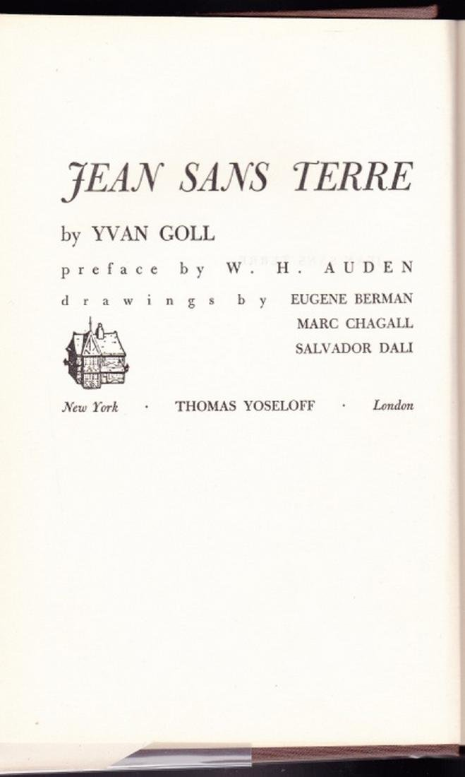 (2 Vols.) Love Poems and Jean Sans Terre. (Chagall. - 7